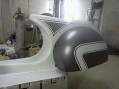 frame rear in paintsml